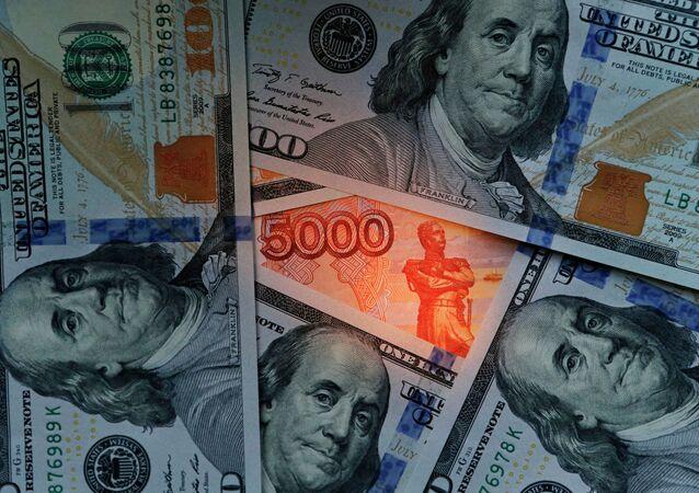 Dollari USA e rubli
