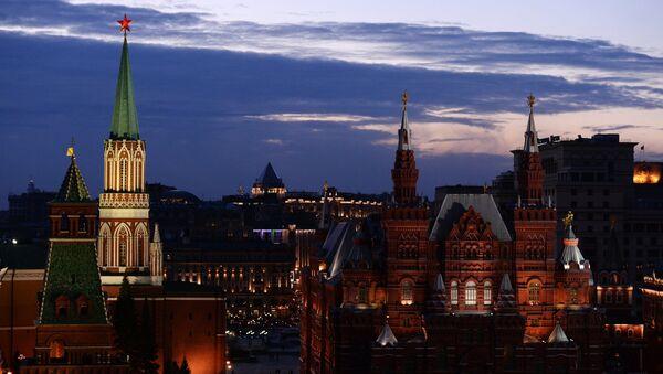 L'Ora della Terra a Mosca (Earth Hour) - Sputnik Italia