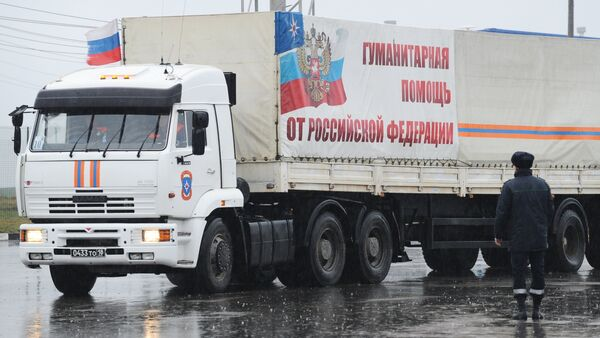 Convoglio di aiuti umanitari russi per Donetsk e Lugansk - Sputnik Italia