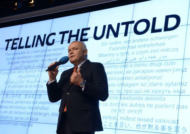 Dmitry Kiselev, direttore generale Rossiya Segonya