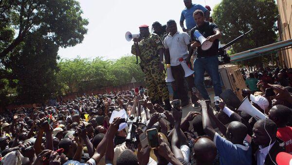 Proteste antigovernative in Burkina Faso - Sputnik Italia