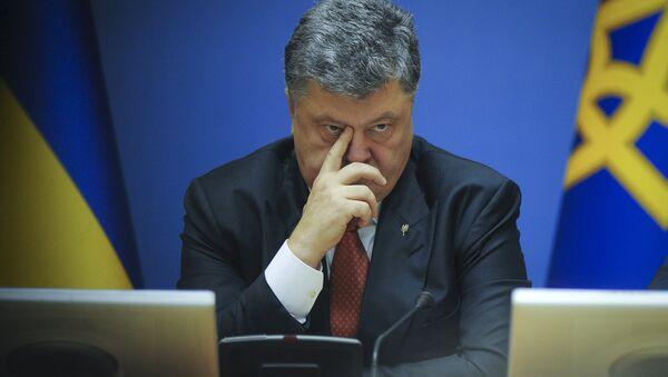 Petro Poroshenko - Sputnik Italia