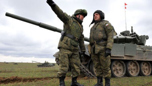 I militari russi durante le esercitazioni al confine con Cecenia - Sputnik Italia