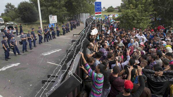 Il confine tra Ungheria e Serbia - Sputnik Italia