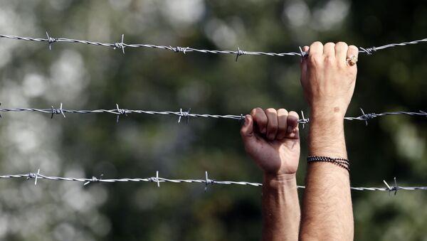 Il confine ungherese - Sputnik Italia