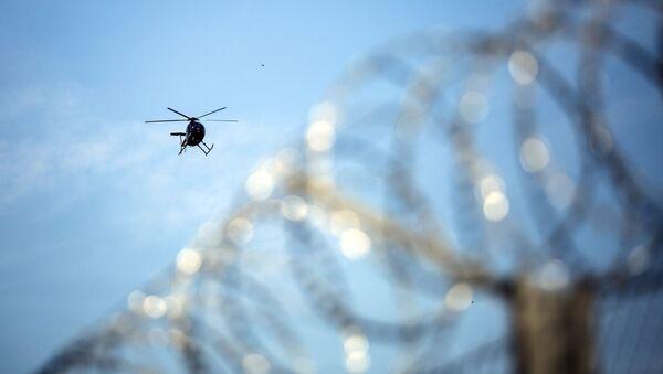 Un elicottero al confine serbo-ungherese - Sputnik Italia
