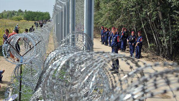 Al confine serbo-ungherese - Sputnik Italia