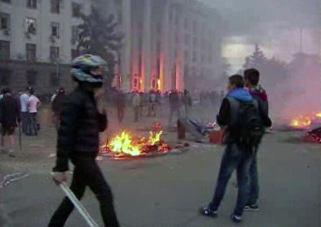 Disordini alla Casa dei Sindacati ad Odessa (2 maggio 2014)