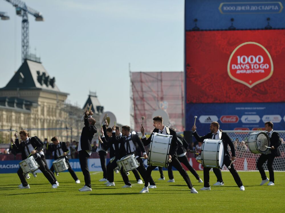-1000 ai Mondiali di Calcio in Russia