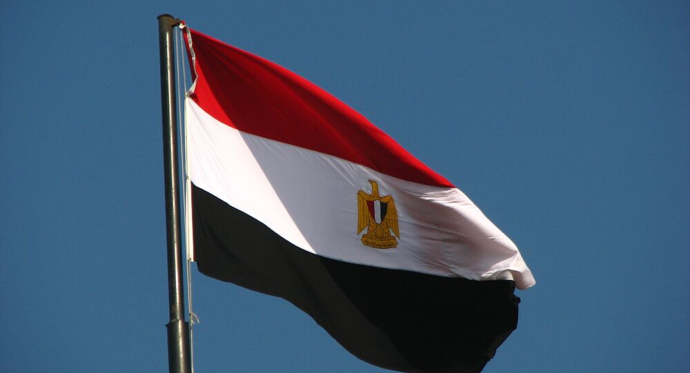La bandiera egiziana