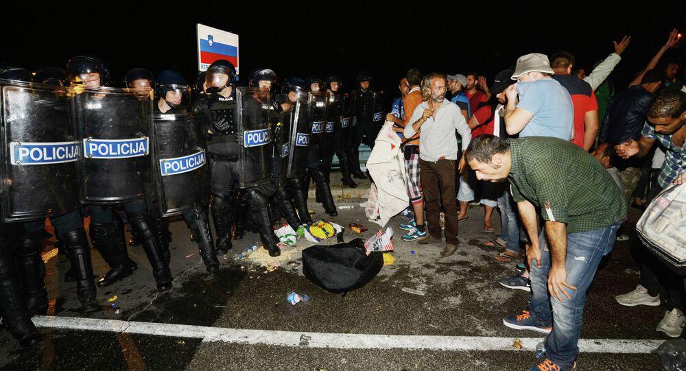 Migranti in Slovenia