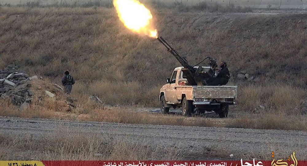 Contraerea di ISIS in Siria