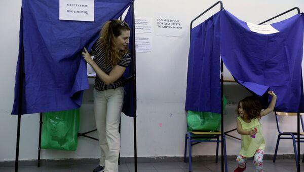 Elezioni in Grecia - Sputnik Italia
