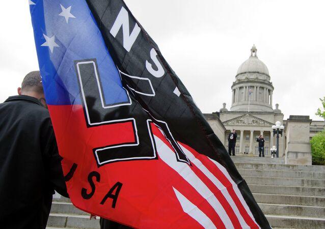 Manifestazione neonazista in USA