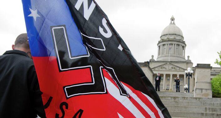 Manifestanti neonazisti in USA