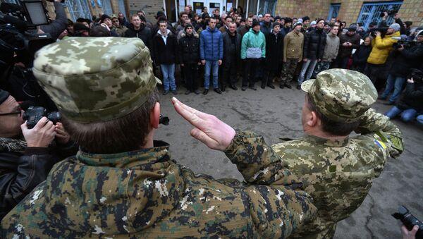 Mobilitazione dell'esercito ucraino - Sputnik Italia