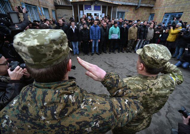 Mobilitazione dell'esercito ucraino