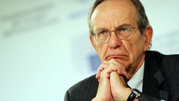 Il ministro di Finanze italiano Pier Carlo Padoan - Sputnik Italia