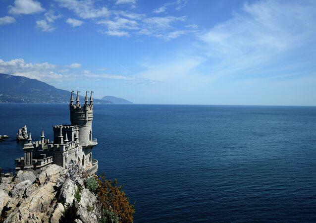 Il nido di rondine a Yalta