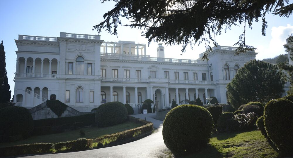Il palazzo di Livadya a Yalta