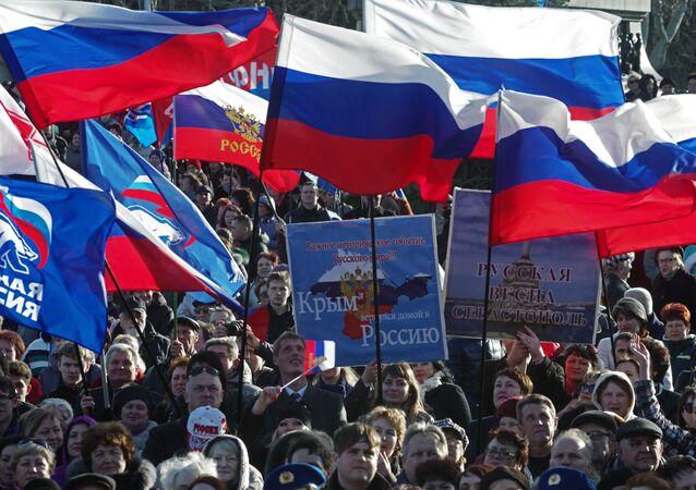 Primo anniversario della riunificazione della Crimea con la Russia