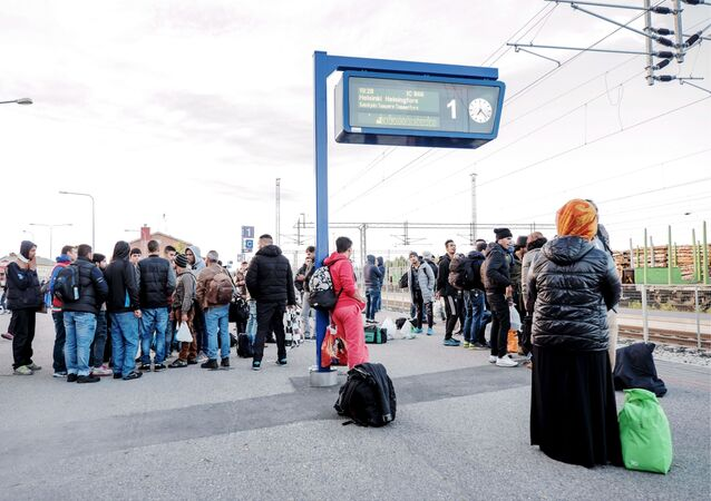 Profughi ad Helsinki (foto d'archivio)