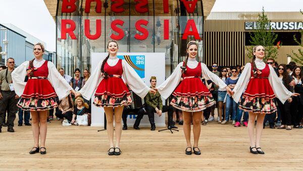 Ballerine russe all'EXPO di Milano il 9 maggio - Sputnik Italia