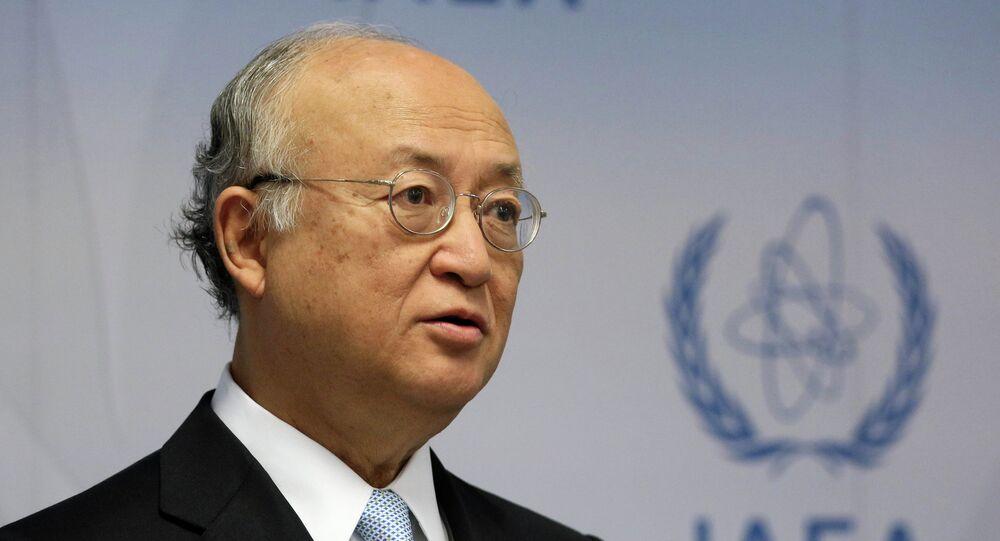 Direttore generale dell'AIEA Yukiya Amano