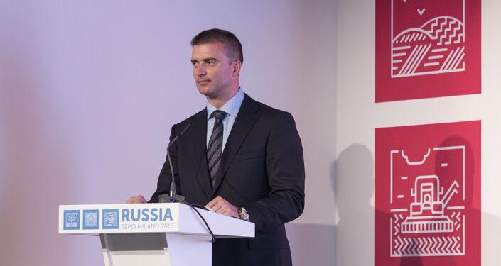 Sergey Bondarenko, direttore del padiglione russo