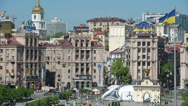 View of the Independence square in Kiev - Sputnik Italia