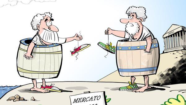 Mercato greco - Sputnik Italia
