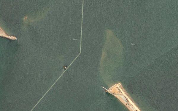 Il ponte che collegherà la Crimea alla terraferma ed è già in costruzione - Sputnik Italia