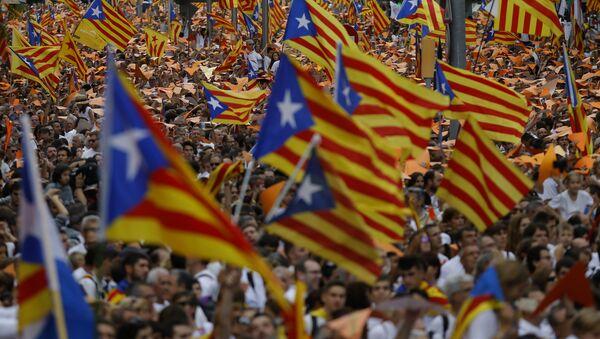 Bandiere della Catalogna - Sputnik Italia