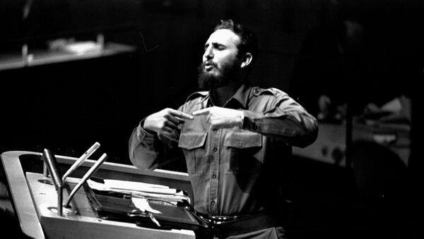 L'intervento più lungo nella storia delle assemblee generali dell'ONU fu quello di Fidel Castro il  26 settembre 1960 - Sputnik Italia