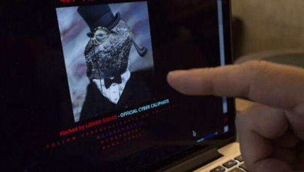 Взломанный хакерами Cyber Caliphate сайт Малайзийских авиалиний - Sputnik Italia