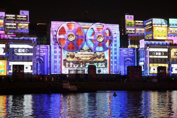 La cerimonia dell'apertura del Festival internazionale di Mosca Cerchio di luce. - Sputnik Italia