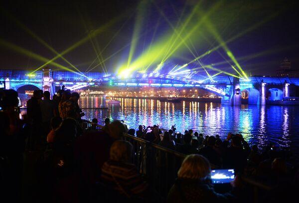 La cerimonia dell'apertura del Festival internazionale di Mosca Circolo di luce. - Sputnik Italia