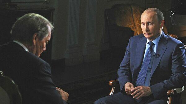 Vladimir Putin gives interview to CBS channel - Sputnik Italia