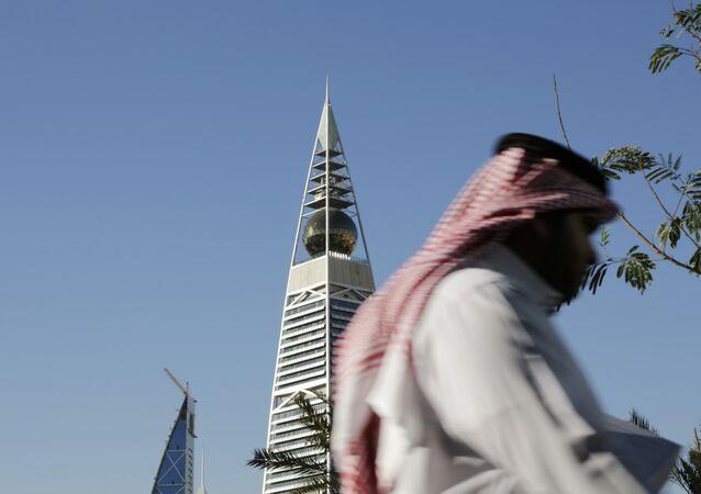 Torre al-Faisaliya a Riyadh, Arabia Saudita