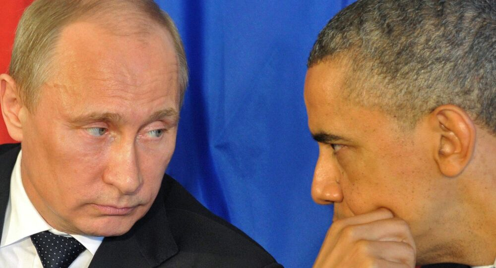 Vladimir Putin e Barack Obama (foto d'archivio)