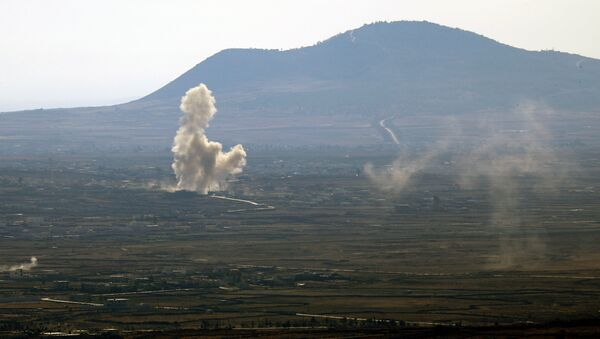 Alture del Golan, confine tra Israele e Siria - Sputnik Italia