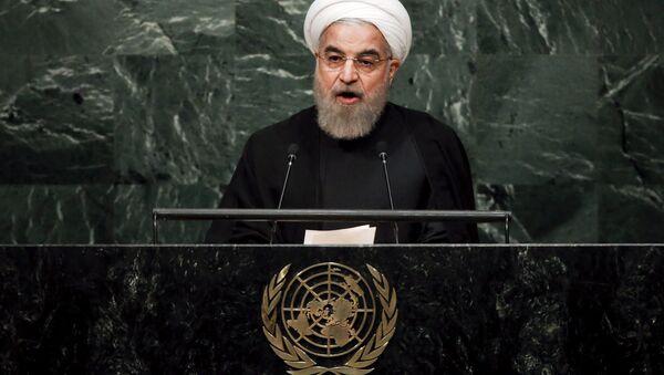 Il presidente iraniano Hassan Rouhani - Sputnik Italia