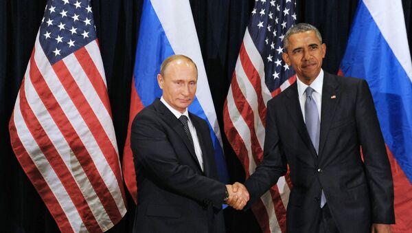 Vladimir Putin e Barack Obama - Sputnik Italia