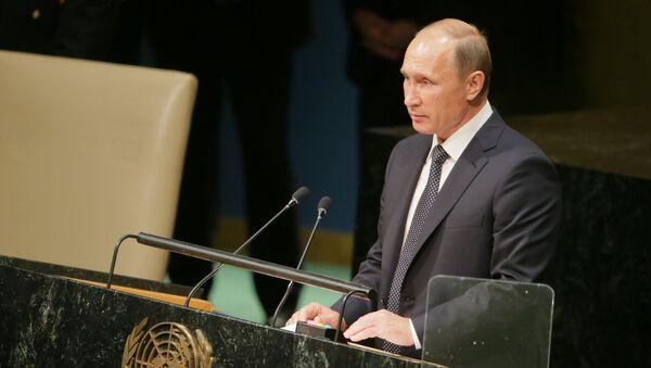 Intervento di Putin all'Assemblea Generale dell'ONU - Sputnik Italia
