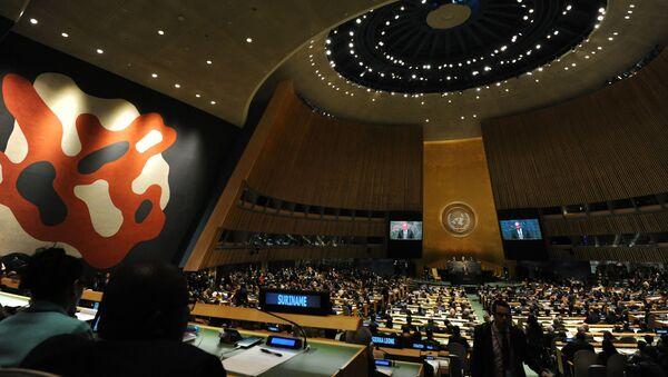 L'intervento di Vladimir Putin all'Assemblea generale delle Nazioni Unite - Sputnik Italia