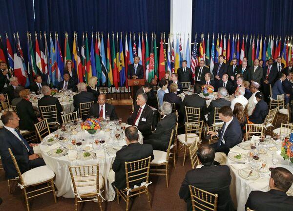 Vladimir Putin all'Assemblea generale dell'ONU. - Sputnik Italia