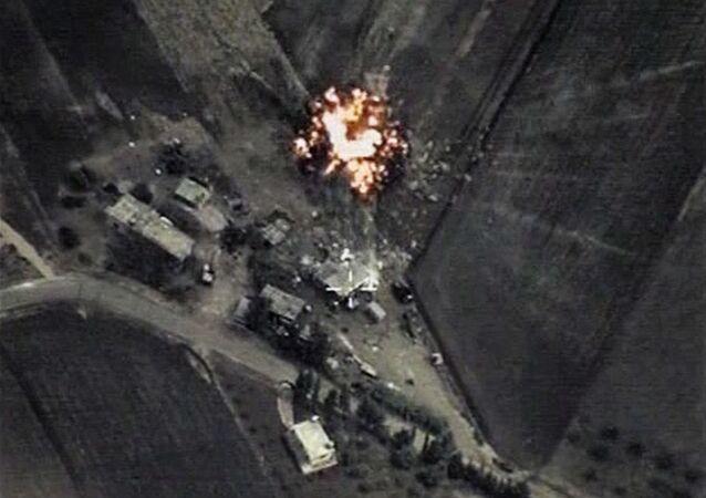 Attacco mirato dell'Aviazione russa in Siria vs ISIS
