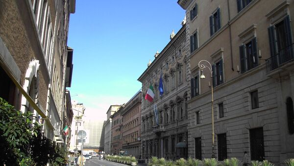 Il Palazzo Madama a Roma, la sede del Senato italiano - Sputnik Italia