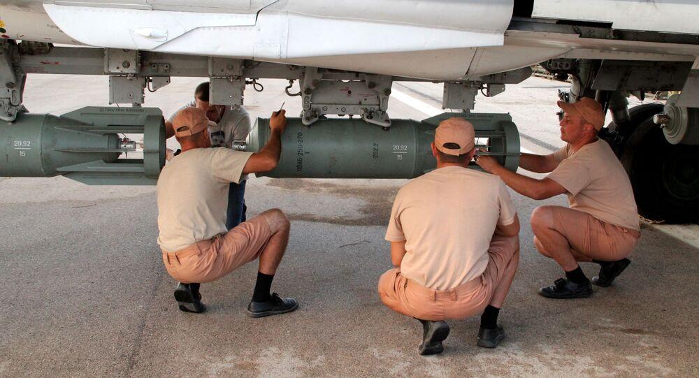Personale tecnico russo alla base di Hmeimim in Siria