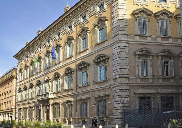 Palazzo Madama, la sede del Senato italiano